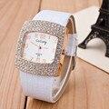 Women Watch 2017 Famous Brand Gogoey Diamond Decoration Quartz Watch Women Elegant Square Dial Dress Watch Reloj Mujer hot Clock
