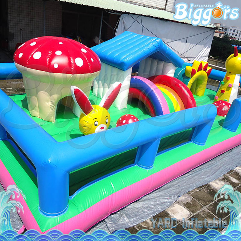 Hot Selling Inflatable House Bouncy Castle ,Inflatable Bounce Trampoline, Bouncer ,Slide with Blower tropical inflatable bounce house pvc tarpaulin material bouncy castle with slide and ball pool inflatbale bouncy castle