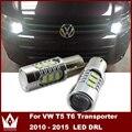 Night Lord 2pcs Samsung chip FOR VW T5 T6 Transporter 2010 - 2015 LED DRL Headlight Upgrade Bulbs MEGA BRIGHT