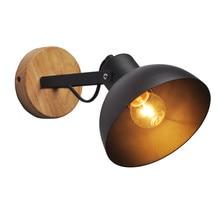 Thrisdar Nordic Iron LED Wall Light Hotel Reading Sconce Lamps Modern Adjustable Cafe Bedroom Bedside