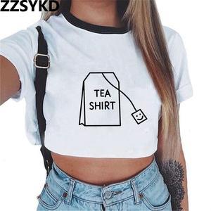 390ebae5 ZZSYKD Crop Top Women Tank Tops Short Sleeve clothing
