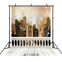 Shine Night City Floor Background For Photography Accessories Wedding Party  Portrait Baby Shower Backdrops Photocall Photoshoot