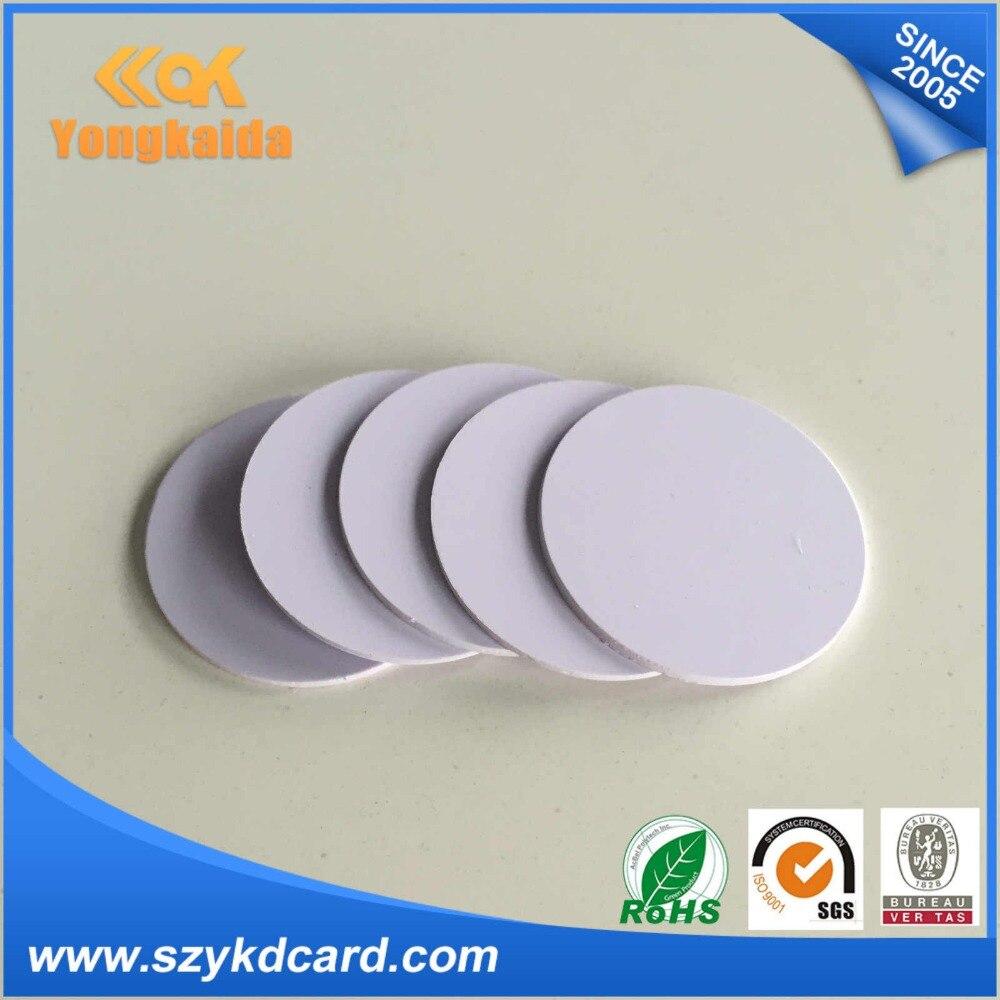 Beautiful Yongkaida 2000 Pcs/lot 15mm Small Programmable Rfid Coin Tag Access Control
