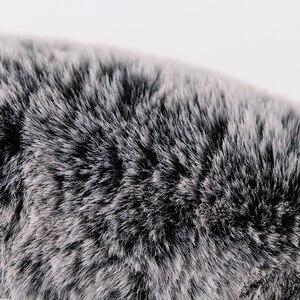 Image 5 - الشتاء سوبر لينة أفخم عجلة توجيه سيارة غطاء العالمي ، الدافئة فو الفراء السيارات المقود على المقود جديلة جميلة