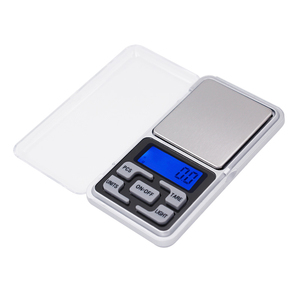 500g 0.1g Mini Pocket Diamond Weight Digital Jewelry scales LCD display with backlight balance 20% off