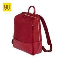 90FUN Fashion City Diamond Lattice Backpack Waterproof Bag Woman Girls For Commute School College Travel Trip