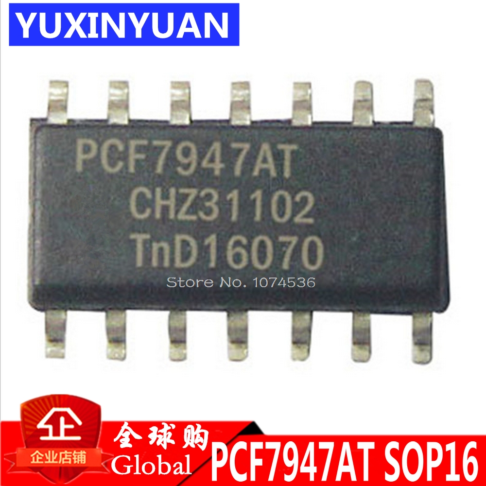 PCF7947AT PCF7947 7947 Chip 100% Good SOP14 1PCS