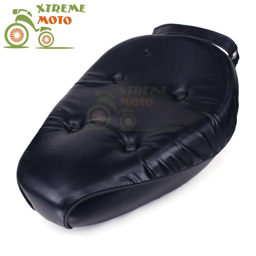 Новый черный передний сиденья водителя кожаная подушка для Rebel CA250 CMX250 1986-2012 CMX250C 2003-2012 мотоцикл Бесплатная доставка