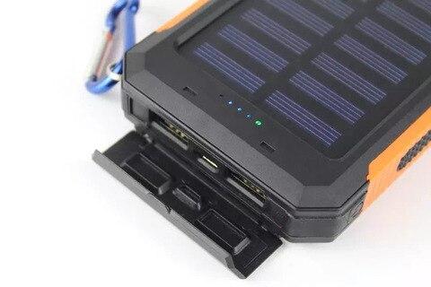 bussola carregador de energia movel portatil