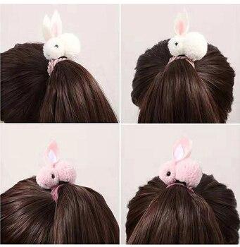 Attache élastique avec lapin pour enfants