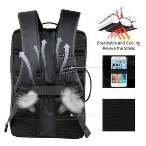 Image 2 - Haweel Flexible Solar Panel Backpacks Convenience Charging Laptop Bags for Travel 14W Solar Charger Daypacks &Handle &USB Port