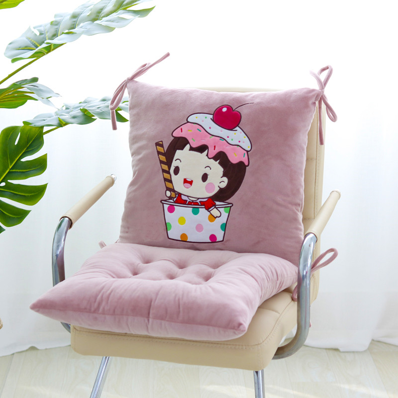 Dual Use Detachable Home Decor Sofa Pillows Cartoon Pattern Cushion, Seat Cushion Back Pillow On The Chairs, Stoel Kussen