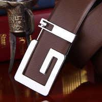 Ceintures pour hommes marque de luxe en cuir véritable pour homme décontracté fashion designer sangles haute qualité ceinture en cuir livraison gratuite