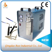 BT 800DFPH 150L/hour 800W HHO Generator Jewelry Welding Machine supporting 2sets of flame torches to weld metals parts