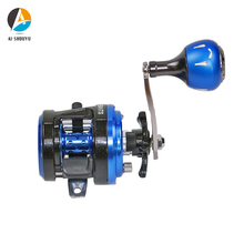 NEW Snakehead Fishing Reel Magnetic Brake System Aluminium Alloy Body Max Drag 7kg 5.0:1 EVA Handle Casting 7+1BB