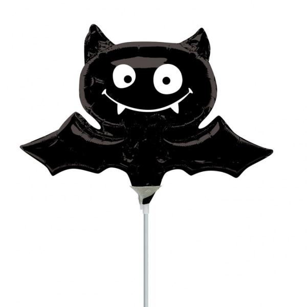 Pcslot Anagram Mini Size Black Bat Foil Balloons Cartoon Animal