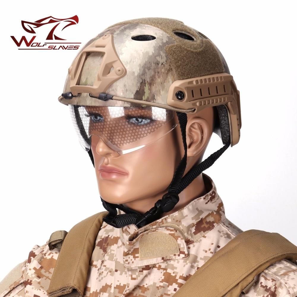 Chaud! Emerson capacité de levage rapide de Type PJ et avec casques de protection casque militaire Airsoft livraison gratuite