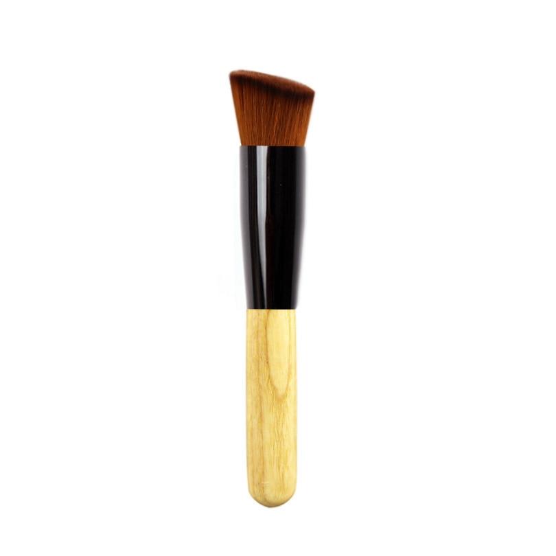 Nova jednostruka 1 komad temeljna bambusova četka za mekšanu meku - Šminka