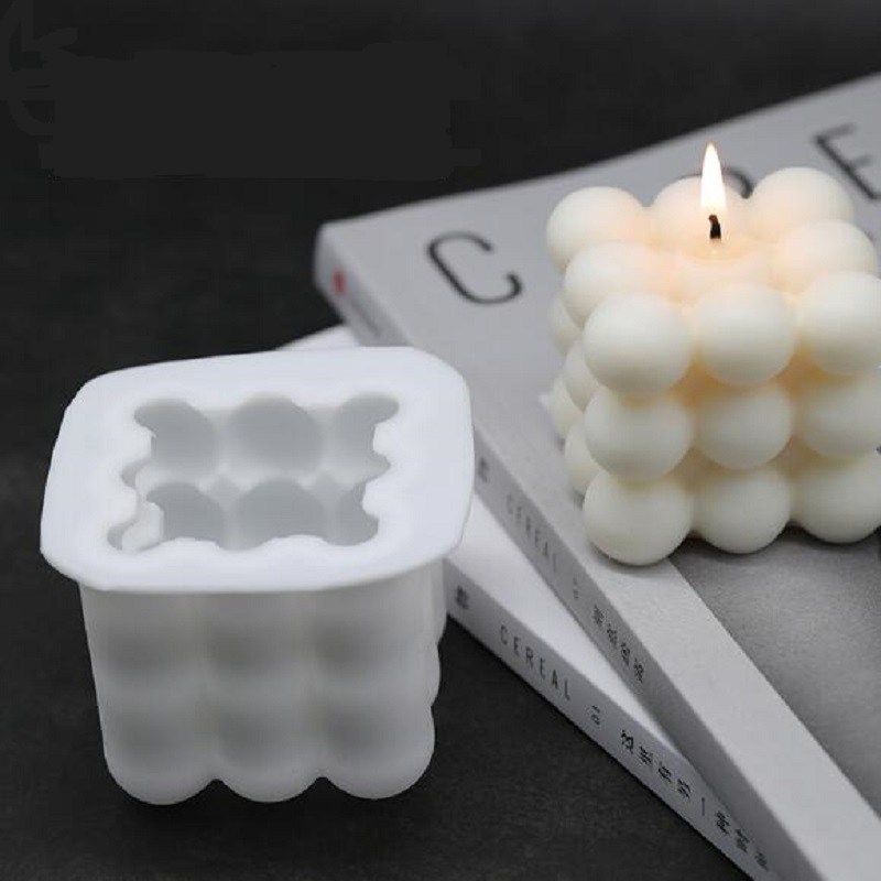 4 Cavity Silicone Soap Mold DIY Peach Heart Candle Aroma Wax Tablets Mould
