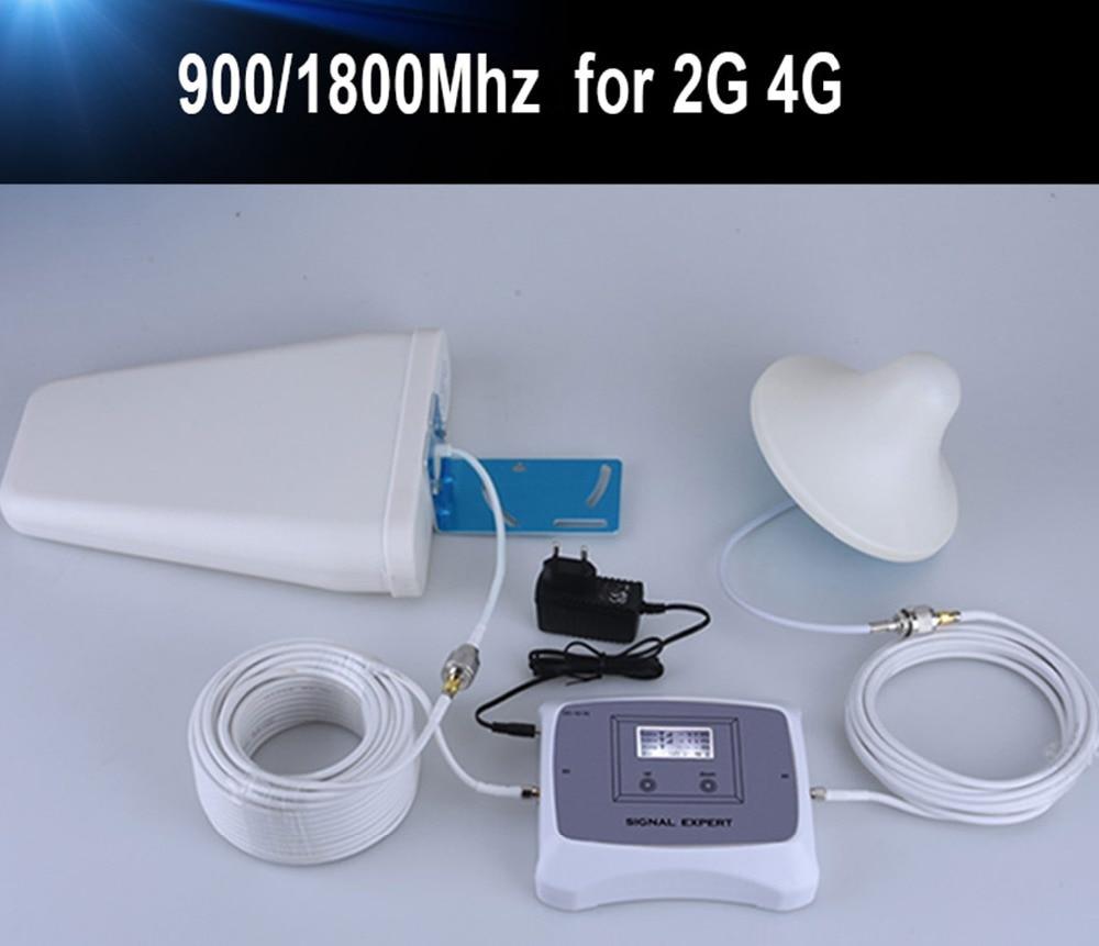 Ny ankomst! 2g 4g mobil signalförstärkare DUAL BAND 900/1800 mHz - Reservdelar och tillbehör för mobiltelefoner - Foto 5