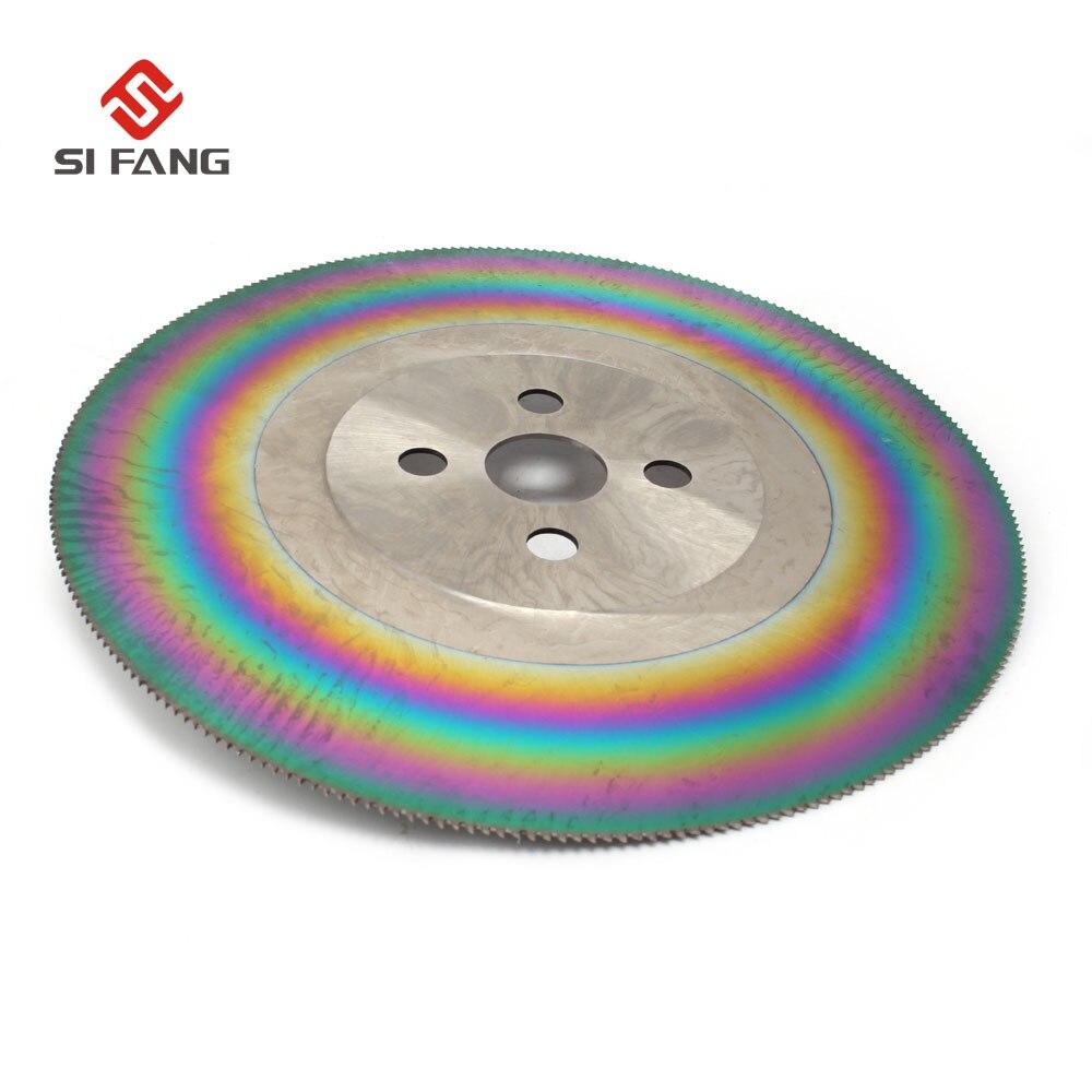 Lame de scie circulaire en acier HSS haute vitesse 250mm 10 pouces pour couper la tige solide en acier inoxydable M42 avec épaisseur 1.2/1.6/2.0mm