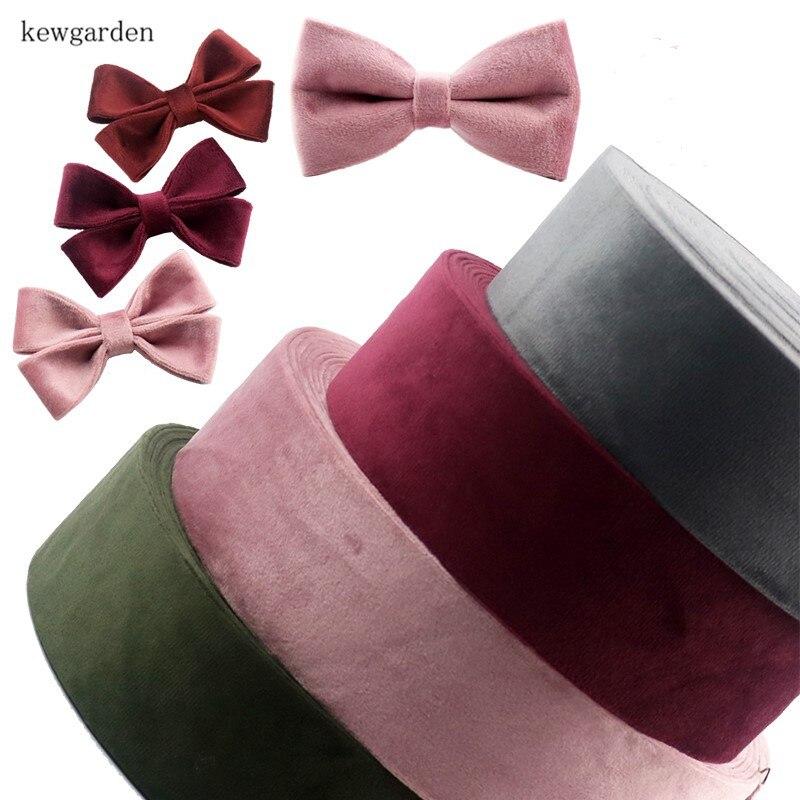 US $4.1 10% OFF|Kewgarden Velvet Fabric Layering Cloth Ribbons 50mm 25mm 10mm Handmade Tape DIY Bowknot Satin Ribbon Riband 8Meters / Lot|Ribbons| |  - AliExpress