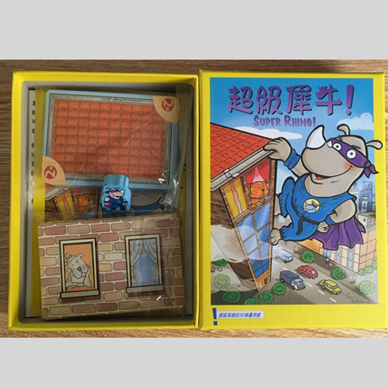 Super-Rhino-Board-Game-2-5-Players-Funny-Cards-Games-High-Quality-Paper-Game-For-Party