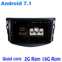 Android 7 1 Car Radio Gps No Dvd For Toyota RAV4 2006 2012 With Quad Core