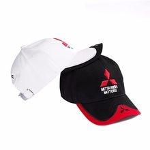 990a28308b9 New 3D Mitsubishi Hat Car Logo Moto GP Moto Racing Baseball Caps Adjustable  Casual Trucker Hat Snapback Hip Hop Caps