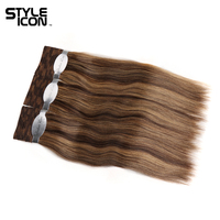 Styleicon Wet And Wavy Human Hair 3 Bundles Deal Indian Remy Hair Passion Weave Bundles Hair Extensions Color P1B/99J P4/27