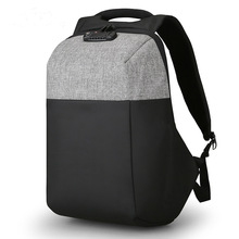 2019 New Anti-thief USB Recharging Men Backpack NO Key TSA Lock Design Men Business Fashion Message Backpack Travel замок для сумки master lock just tsa tsa