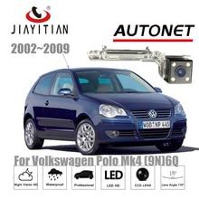 Jiayitian камера заднего вида для Volkswagen Мужские поло MK4 9N 6N/Ночное видение/Номерные знаки для мотоциклов камеры/ccd/Обратный резервного копирования камера