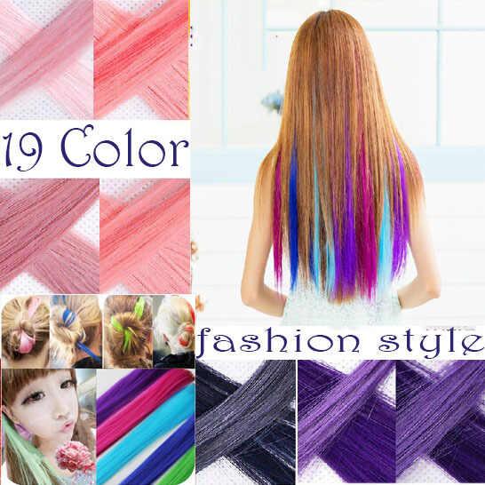 Xubchc Mới Thời Trang 20 Màu Hợp Thời Trang Phần Lông Tóc Bé Gái Phụ Kiện Tóc Nhiều Màu Tóc Giả Dành Cho Nữ tóc Trang Sức