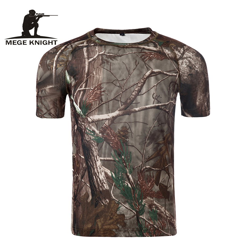 Summer Style Men Hurtig Tørr Camouflage T-skjorte multi cmouflage fasjonable menn topp t-skjorte Fctory Direct Good Quality