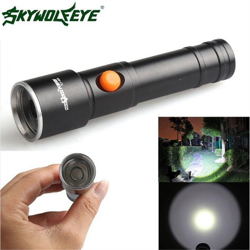 DC 27 Shining Hot Selling Fast Shipping 2500 LM 3 Modes CREE XML T6 LED Fit AA Battery Flashlight Lamp Pocket Size Torch xml pocket consultant