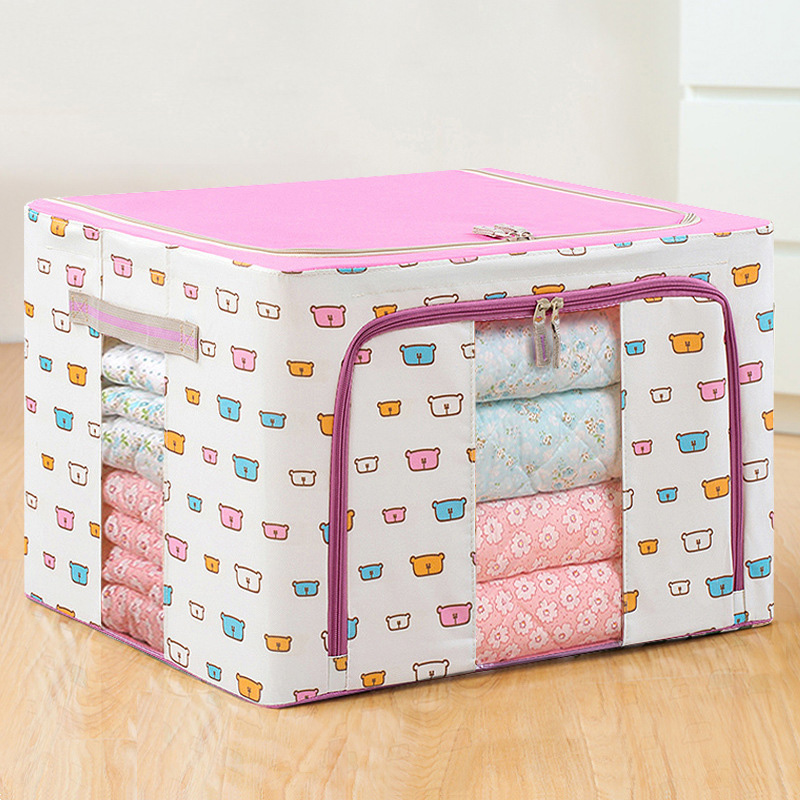 Quilt Receptacle Foldable Storage Bags, Clothing Blankets, Quilts, Wardrobes, Sweaters, Wardrobes, Pockets, Wardrobes,