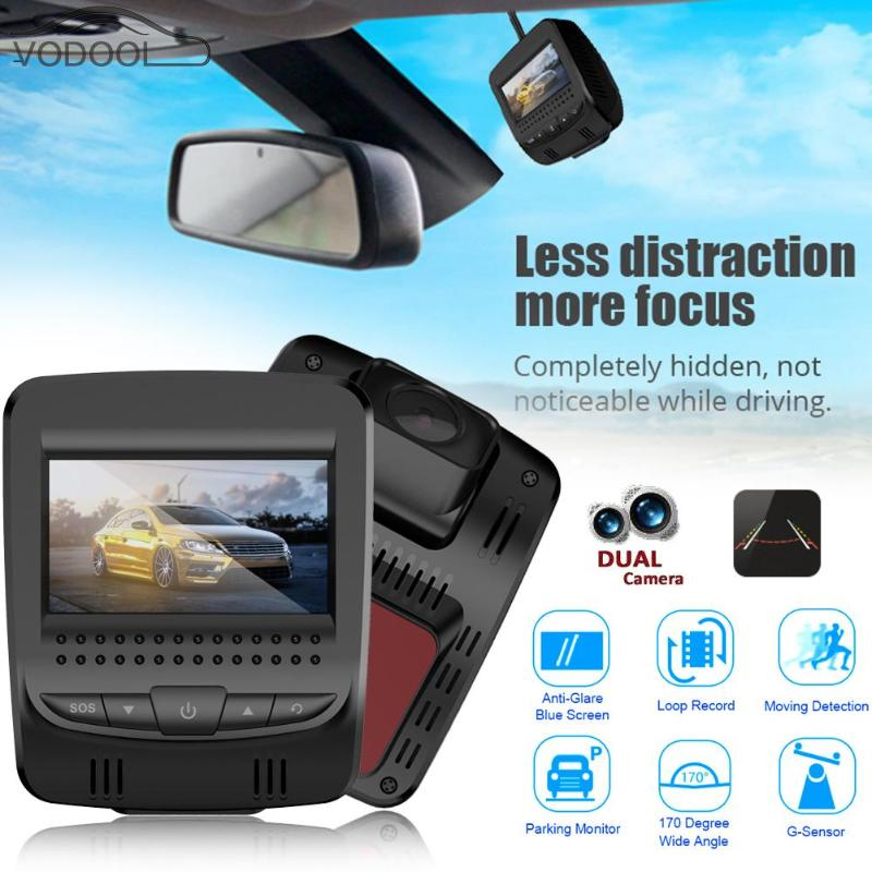 T9 2.45 3G WiFi Mini Car DVR Camera Android 5.0 Auto Dual Lens Digital Video Recorder Night Vision Dash Cam Camcorder with GPS liislee for volkswagen multivan car dvr mini camera driving recorder car dash cam video recorder wifi night vision