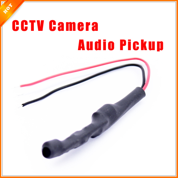 imágenes para De alta Calidad Mini Tipo de Captación de Audio Micrófono Monitor de Sonido para Sistema de CIRCUITO CERRADO de televisión