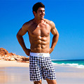 brand men swimwear  boardshorts boxers shorts men bermuda  trunks   shorts beachwear plur size XL