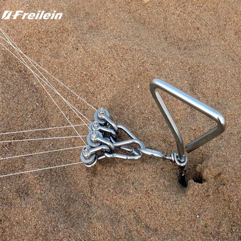 Livraison gratuite haute qualité quad ligne cascadeur cerf-volant inverseur inoxydable cerf-volant chaîne bobine cerf-volant poignée sport cerf-volant accessoires formateur