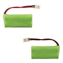 2x Ni-MH Cordless Phone Home Bateria Para Uniden VTech BT166342 BT266342 BT283342