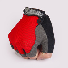 Weight Lifting Gloves Half Finger Mittens Sports Gym Body Building Training Fitness Exercise Workout Wrist Wrap Unisex Men Women