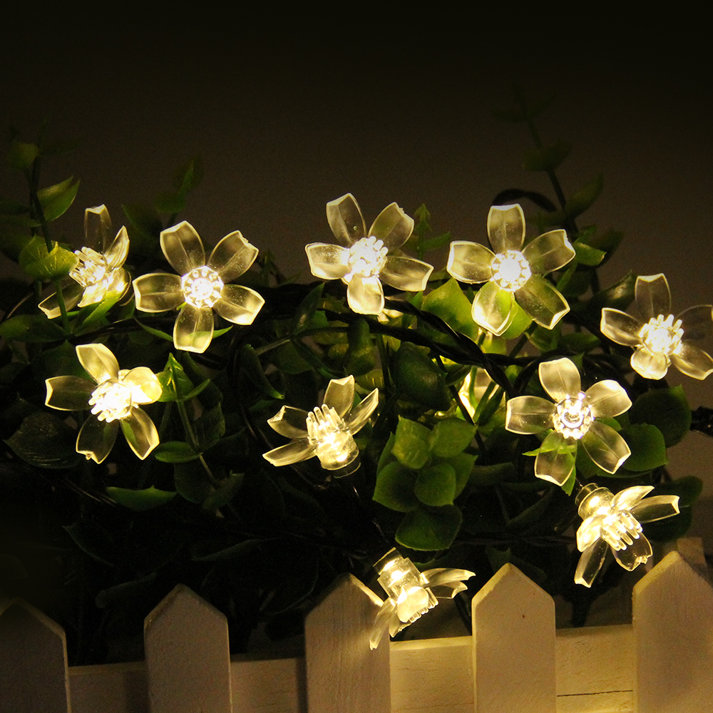 LED Solar Fairy String Lights 4 Shapes Solar Lamp Outdoor Waterproof Solar Powered For Christmas Outdoor Garden Decoration waterproof solar powered led disk lights set of 4 outdoor garden stair lights as seen on tv furniture accessories