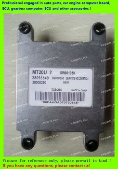 For car engine computer/MT20U MT20U2 MT22  ECU/Electronic Control Unit/CarPC/Southeast Delica/28093549 SW801058 MT20U2