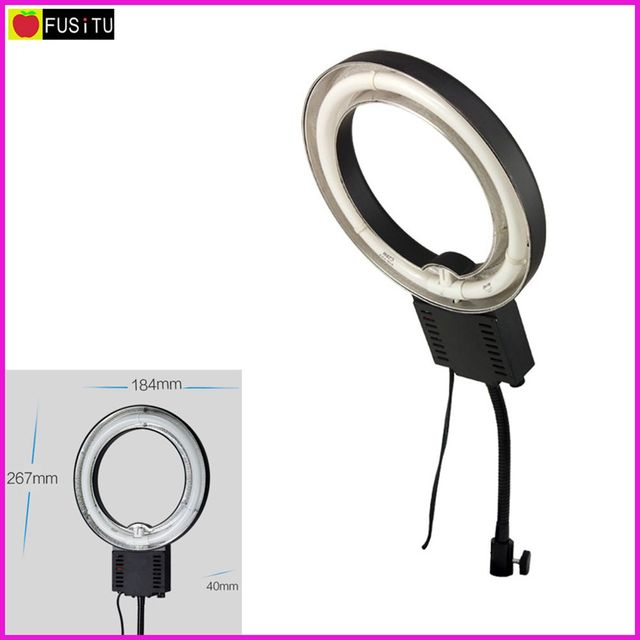 Nanguang NG-28C Photography LED Fluorescent Video Ring Light Shooting Station Set Small Accessories Shooting Small Objects