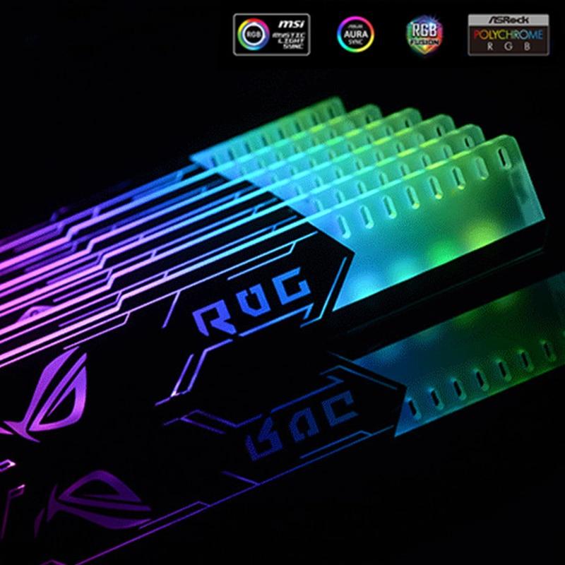 Acrylic Bracket use for Brace GPU Card Backplates 4PIN RGB For Fix Video Card 50