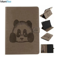 Soft PU Leather 3D Embossing Panda Flip Cover For Ipad Pro 10 5 Inch Case