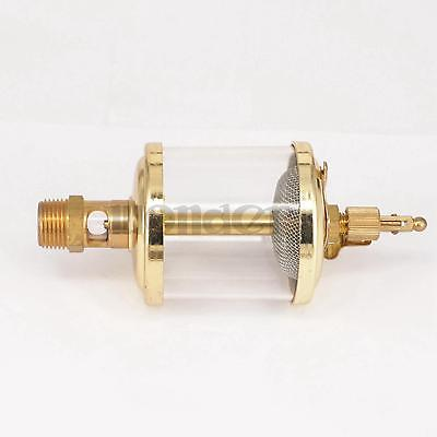 "Buy 3/8"" BSP Male x 2"" Outer Diameter Brass Sight Gravity Drip Feed Oiler Lubricator Oil Cup Hit Miss Engine"
