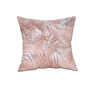Image 2 - 45*45 Colorful Silk Satin Pillowcases Cover Super soft fabric Home Cushion Simple Geometric Throw Bedding Pillow Case Pillow Cov