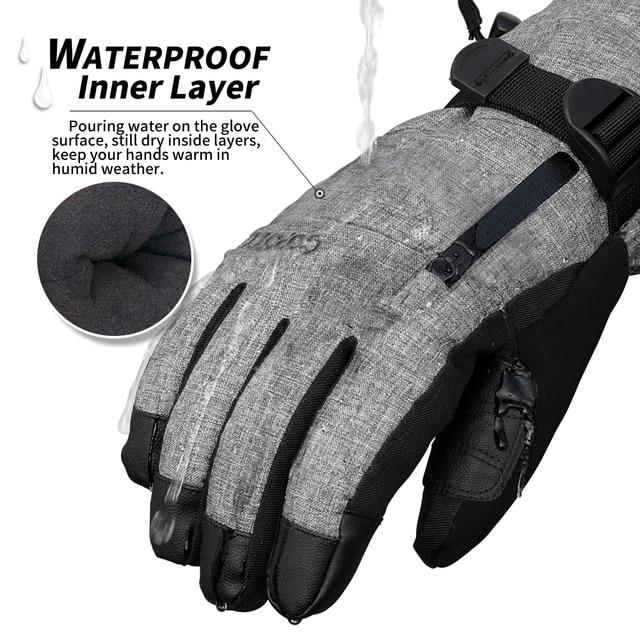 Waterproof Ski Gloves 1